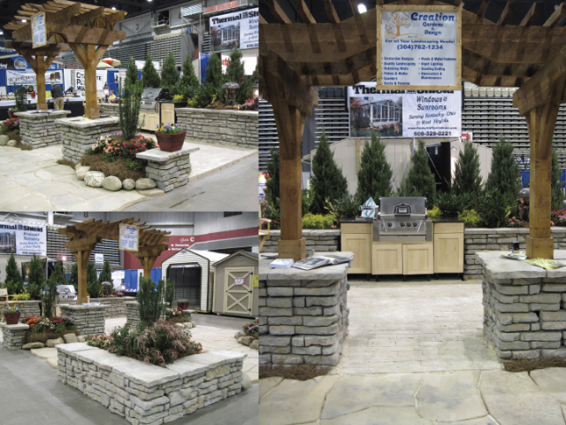 first place winner creation gardens and design lesage west virginia designer janie carpenter for work on the home and garden show in huntington - Home And Garden Trade Shows